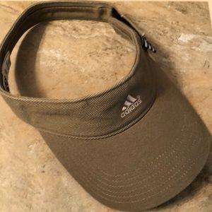 Authentic Adidas Visor, khaki brown color